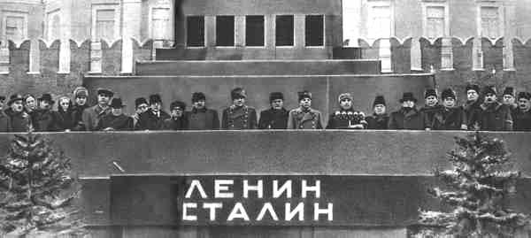 Stalin`s death - photos of the miting